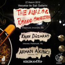 Vesvese ile Sali Sallanir: The Analog Roland Orchestra (Live), Kaan Duzarat, Arman Akinci