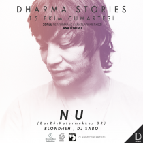 Dharma Stories – NU, Blond:ish, DJ Sabo